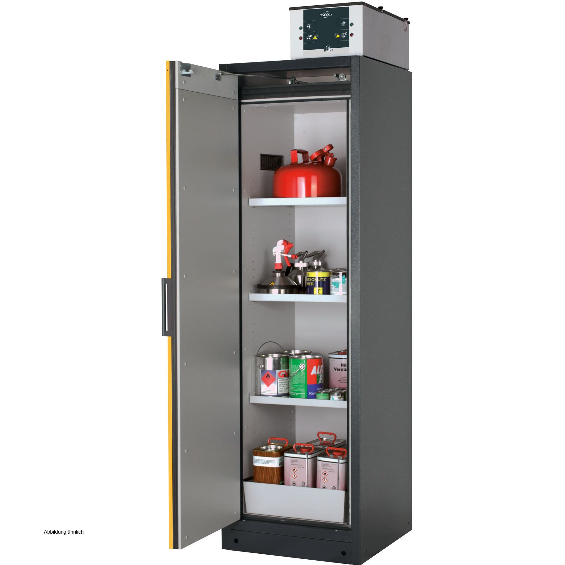 Asecos Safety Storage Cabinet Q Classic 90 60 Cm Right