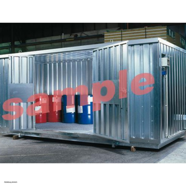 Dperthal Safety storage container galvanised insulated