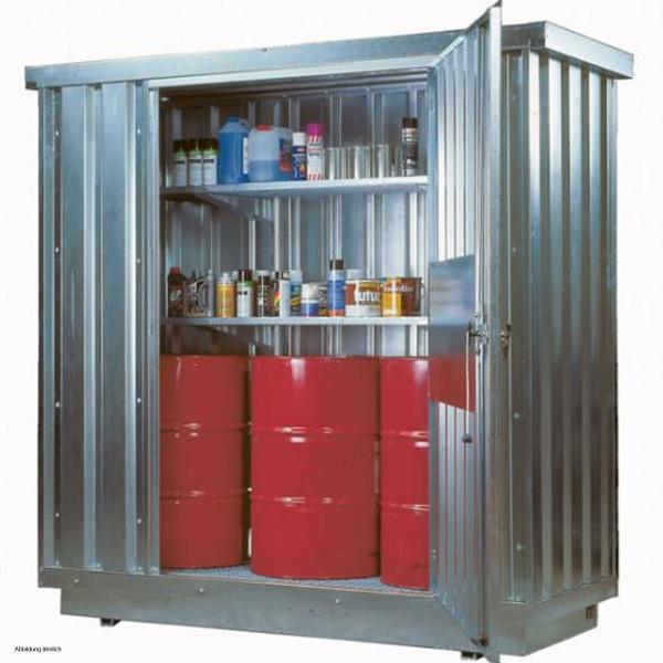 Düperthal Safety Storage Container, Galvanised Storage Container