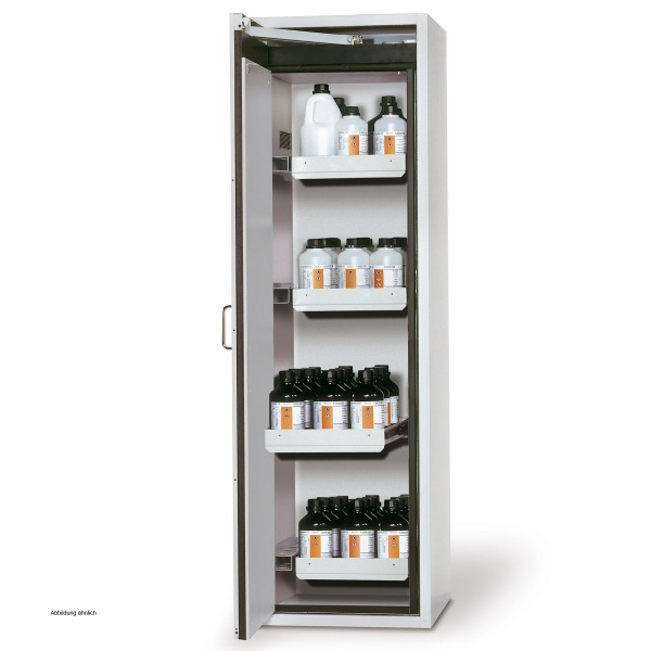 asecos Safety Storage Cabinet Q-PEGASUS-90, 60 cm, left hinged ...