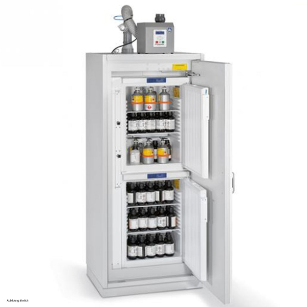 Düperthal Safety cabinet COOL dual XL with exhaust air ...