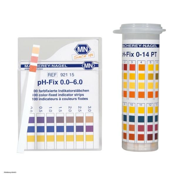 Macherey Nagel Ph Fix Test Strips In Pt Tubes 12 10