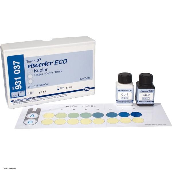 Macherey Nagel Visocolor Eco Test Kit Copper 25 80