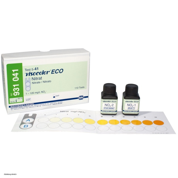 Macherey Nagel Visocolor Eco Test Kit Nitrate 19 30