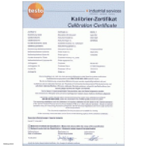 Dkd 3 point calibration certificate for precision reference sensor dkd 3 point calibration certificate for precision reference sensor yelopaper Image collections