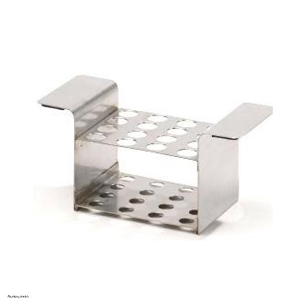 reagenzglashalter aus edelstahl 64 00. Black Bedroom Furniture Sets. Home Design Ideas